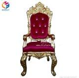 Presidenza attendente nera del cliente della STAZIONE TERMALE di Hly del chiodo della mobilia dorata del salone