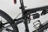 Vélo de montagne électrique d'aide de bâti en aluminium de 26 pouces avec des chocs arrière