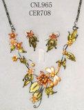 Coutume Joyas - Conjunto de collar (CNL965 & IEE798)