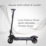 Venda por grosso portátil dobrável 500W 9 18650 polegadas de largura de faixa de longa distância a gordura da roda de bicicleta de Scooter
