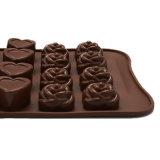 УПРАВЛЕНИЕ ПО САНИТАРНОМУ НАДЗОРУ ЗА КАЧЕСТВОМ ПИЩЕВЫХ ПРОДУКТОВ И МЕДИКАМЕНТОВ аттестует прессформу силикона качества еды материальную, Bowknot сформированная прессформа /Chocolate прессформы пудинга силикона формы Rose формы /Heart