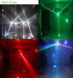 12LEDs 15W RGBW 4in1 LEDのビーム移動ヘッドフットボールライト