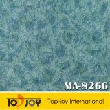Piso vinílico de color natural tiene el aspecto de suelos de mármol (M-8266)