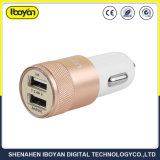 2.4A는 휴대용 여행 차 충전기 USB 이동 전화를 위한 이중으로 한다