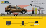 Riga automatica esplorazione di Uvss Digital nell'ambito del sistema di ispezione del veicolo con riconoscimento del piatto delle automobili