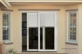 Solar Control Aluminum Sliding Patio Doors with Switchable Blinds