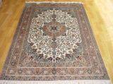 Hand-Knotted шелковые ковры (400 строк)