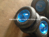 400-8 rotella di gomma di Penumatic del mercato della Polonia con l'asse