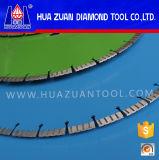 Lames de scie à diamant soudées au laser de conception spéciale pour la construction