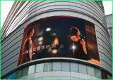 Pantalla LED curvada Soft P5 P6 Outdoor Publicidad LED Flexible LED panel de pared suave