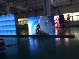 Gebogene LED-weiche Bildschirm-Bildschirmanzeige P5 P6 im Freien flexible LED LED-weiche Wand bekanntmachend