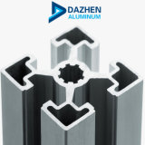 Anodisiertes kundenspezifisches Schlitz-industrielles Aluminiumprofil-Aluminium-Kapitel der Stärken-T