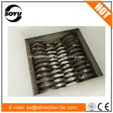 Tagliuzzatrice dell'asta cilindrica di /4 della trinciatrice delle quattro aste cilindriche per plastica/spreco/barilotto/legno/metallo/vetro/documento