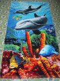 Пляж напечатанный хлопком Towelsoes Sh100% (Leopard-BA447)