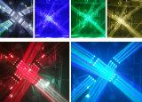 جديدة ديسكو مرحلة [ليغتينغ فّكت] حزمة موجية 360 بكرة [1625و] [رغبو] [4ين1] حزمة موجية [لد] ضوء متحرّك رئيسيّة