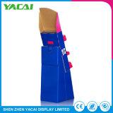 O papel durável coneta o Assoalho-Tipo carrinhos da exposição da cremalheira de indicador