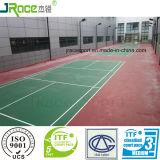Duur lang en het Vloeren van de Sporten van het Hof van het Badminton van de Weerbestendigheid