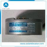 Macchina Gearless a magnete permanente della trazione dell'elevatore del passeggero di Torin Vvvf (OS113-GTW8)