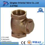 3 polegada de baixo preço profissional durável da válvula de retenção da mola de latão ou de Latão