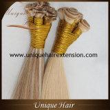 Trame de cheveu attachée par main brésilienne de Vierge