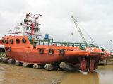 Bexiga de lançamento do navio para o navio que lanç e que aterra com garantia de CCS