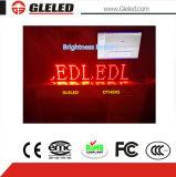 P10 esterni scelgono la visualizzazione di LED di colore rosso (P10S)