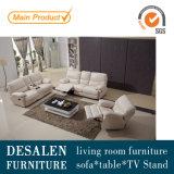 高品質の柔らかい感じの革リクライニングチェアのソファー、岩が多いソファー(Y988)