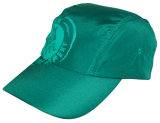 Casquillo verde del deporte hecho del nilón del 100% (C104)