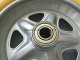 Pneumatico solido rotella della gomma piuma dell'unità di elaborazione da 3.50-8 pollici per il carrello del carrello