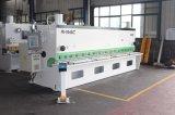 QC11y-6X2500mm máquina de cisalhamento do feixe de giro hidráulico/máquina de corte CNC/Placa de fabricação da máquina de Cisalhamento