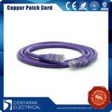 Совместимый с RoHS полихлорвиниловая оболочка сетевой кабель