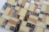 Py019 8mm de espesor mosaico de vidrio Mezcla de colores diferentes patrones de sobremesa