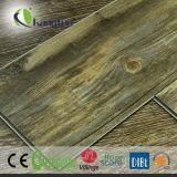 Pavimentazione di superficie di legno della plancia del vinile del pavimento del vinile del PVC nel disegno di legno