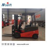 Marca Noelift 3t/batería Carretilla elevadora eléctrica 3m de mástil dúplex se utiliza para el almacenamiento de equipos de refrigeración