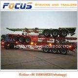 del carico utile 40t del contenitore del telaio del camion rimorchio di scheletro pesante semi