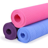 Anti-Slip TPE PU Leather Natural Rubber Yoga Mat
