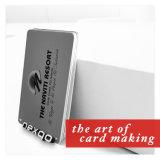 고품질 PVC 플라스틱 은 금 오바레이를 가진 최신 우표 자석 줄무늬 카드