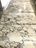 Lastra di marmo bianca cinese di Arabascata per il controsoffitto e le mattonelle della stanza da bagno