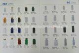 Produtos plásticos azuis do frasco plástico vazio do animal de estimação para o empacotamento químico