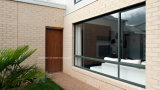 Triple Tracks Aluminum Sliding Window for Residential Properties