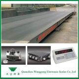 Escala do peso do caminhão para o limite de cargas moderno do tráfego