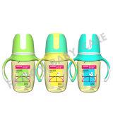 Bottiglia di alimentazione del bambino di PPSU con la bocca larga BPA della maniglia liberamente