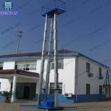 3マストが付いている16mのアルミ合金の空気作業上昇のプラットホーム