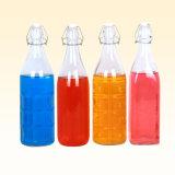 1000ml 500ml 250ml Customzied trinkende Glasflaschen-Schwingen-Oberseite