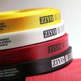 Jd-3004販売または価格のための自動多色刷りのサテンかゴムまたはリボンのラベルまたは締縄ファブリックシルクスクリーンの印字機