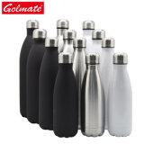 Bouteille d'eau en acier inoxydable 500ml 750ml Cola Thermos bouteille d'eau forme Fiole à vide