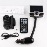 Reproductor de MP3 inalámbrico de manos libres Bluetooth Car Kit transmisor FM cargador de coche