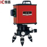 8 Faisceau rouge de ligne automatique trois Anit Niveau laser rotatif