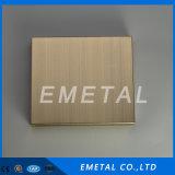 Strati 304 dell'acciaio inossidabile della linea sottile 1mm dell'oro