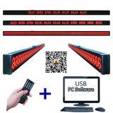 5.2X4.2 misura il prezzo con un contatore delle mensole del supermercato P4-8X344 che fa pubblicità alla visualizzazione di messaggio di Scrolling della modifica LED